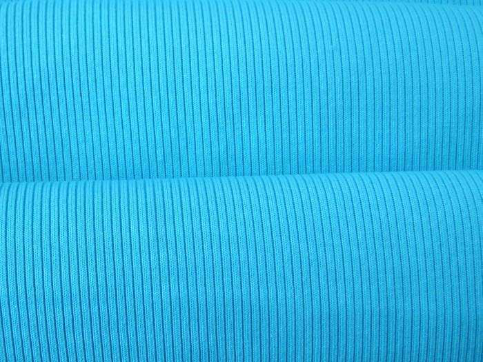 Clothing knit rib fabric technology elements prevail